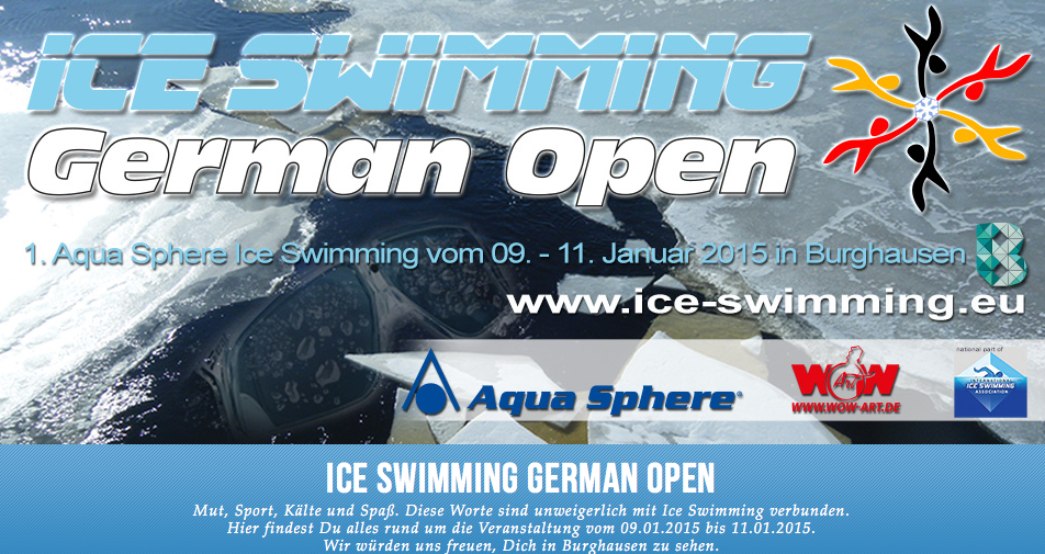 Carboo4U Tipp - Ice Swimming German Open vom 9. - 11. Januar 2015
