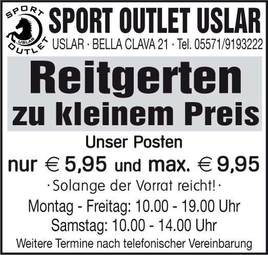 sport outlet uslar - reitbedarf - carboo-shop-de - http://sport-outlet-uslar.de/news/