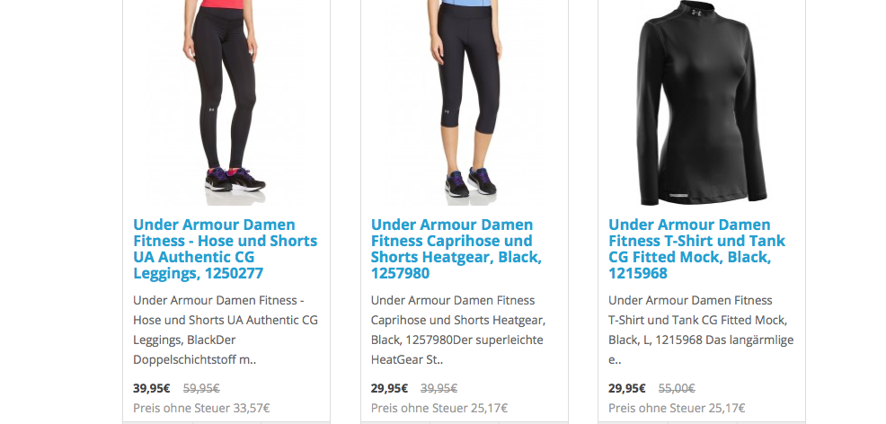 carboo-shop - under armour