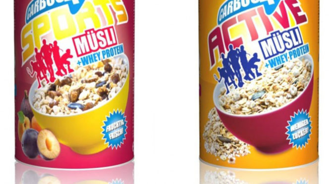 Carboo4U Sports Müsli